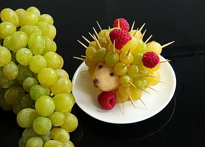 ovocný ježek
