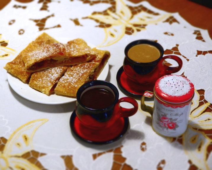 textil závin káva