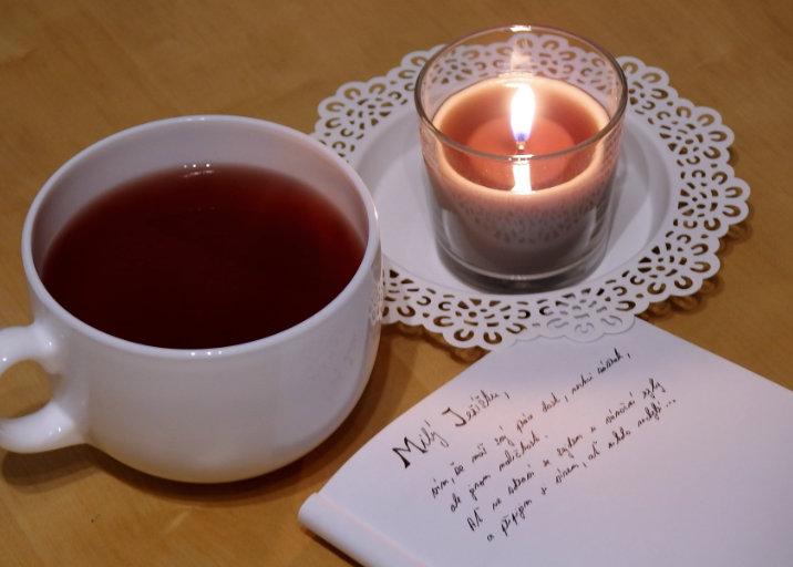 Dopis Ježíškovi čaj